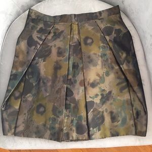 J. Crew taffeta green skirt. Green. Sample.